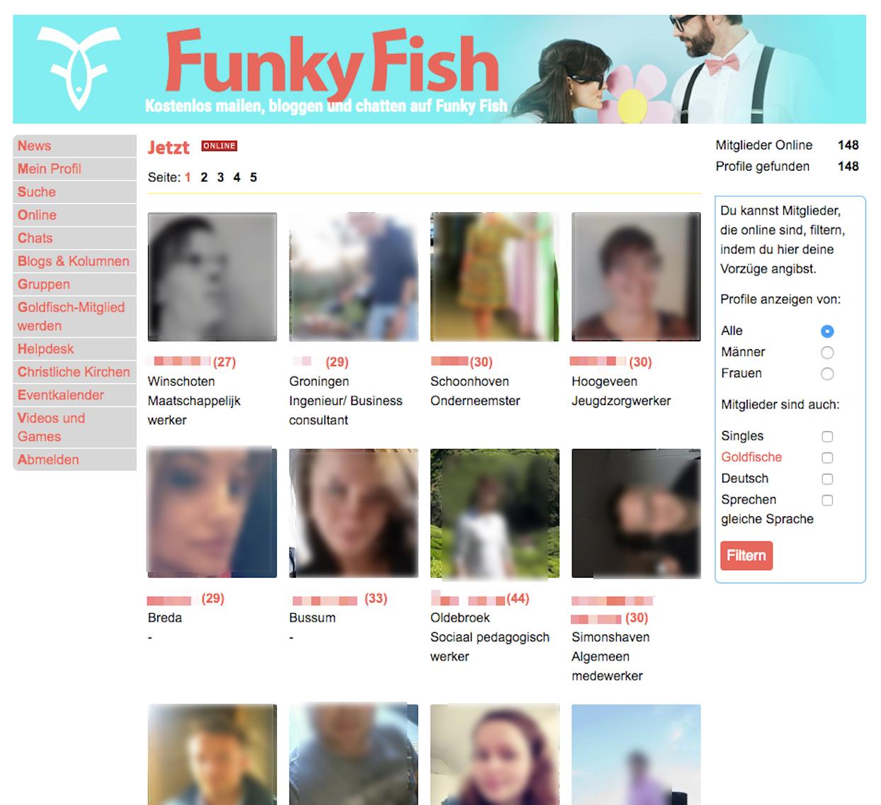 FunkyFish Mitglieder