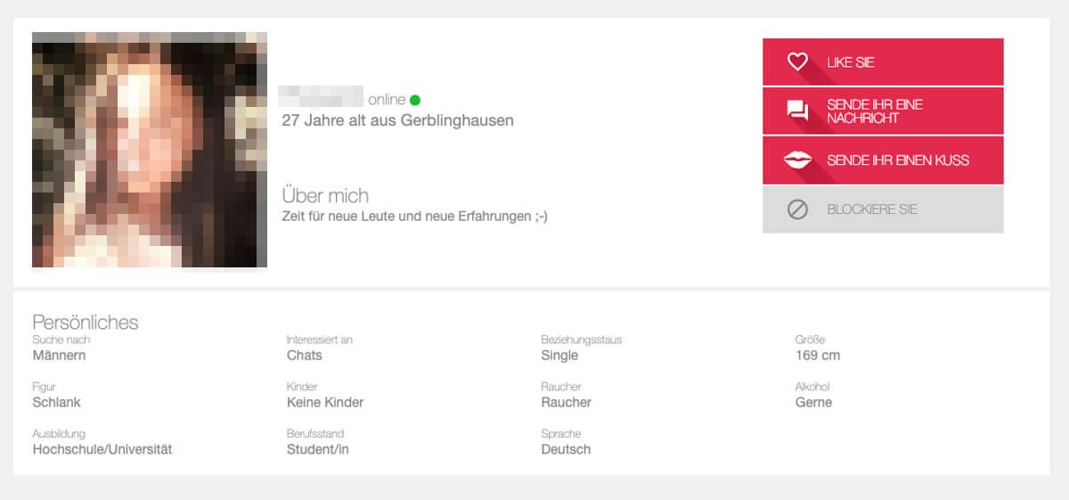iDates Profil