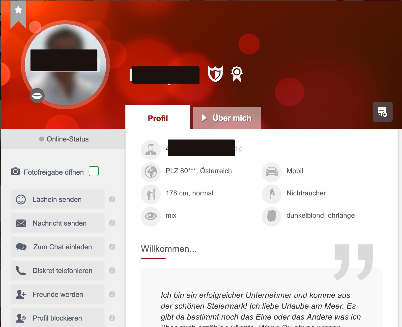 Lovepoint Profil