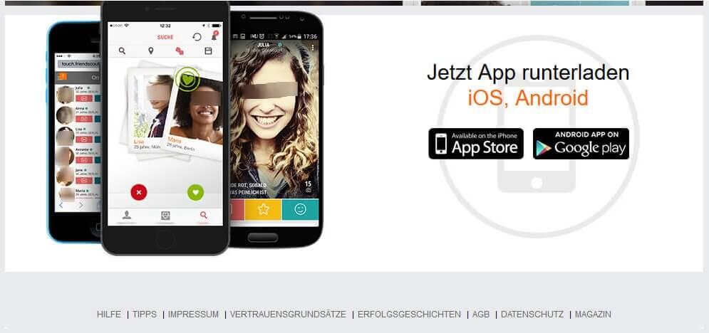 Lovescout bietet Apps an