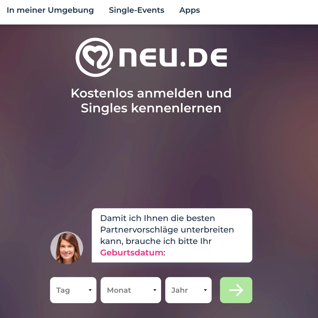 Anmeldung bei Neu.de