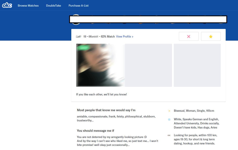OKCupid Double Take