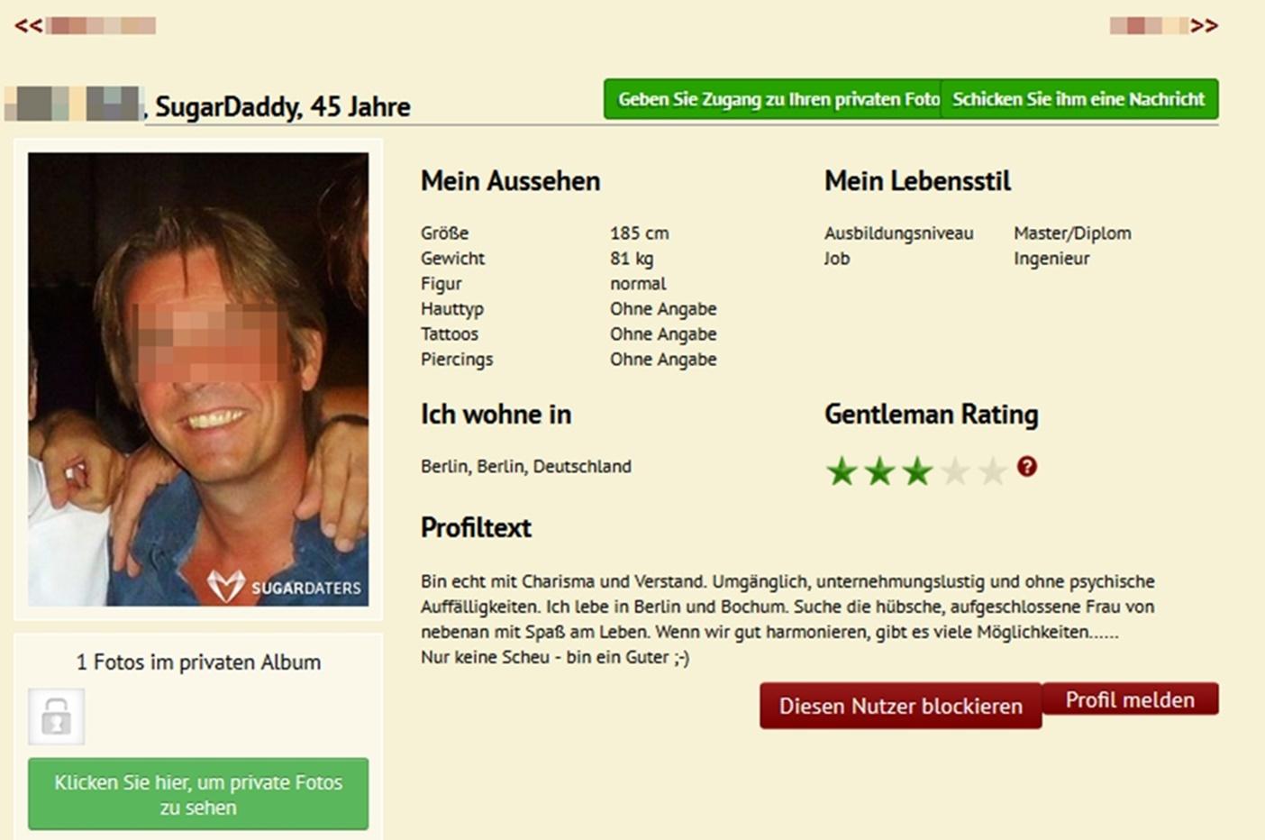 Sugardaddy Profil