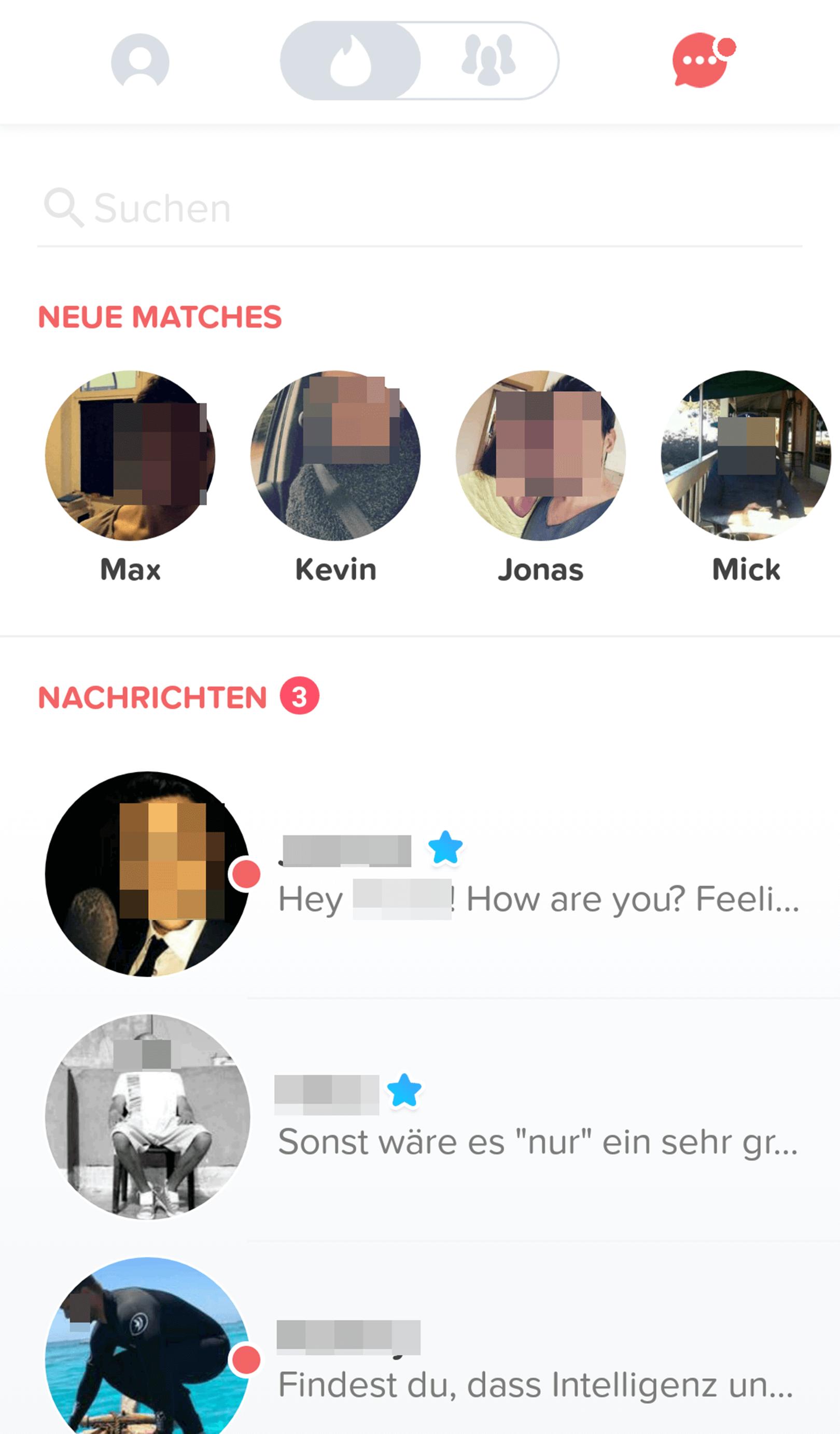 Tinder Matches