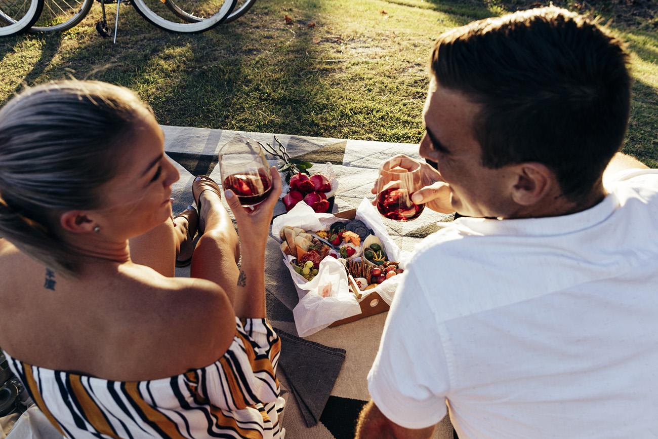 Erstes Date romantisch