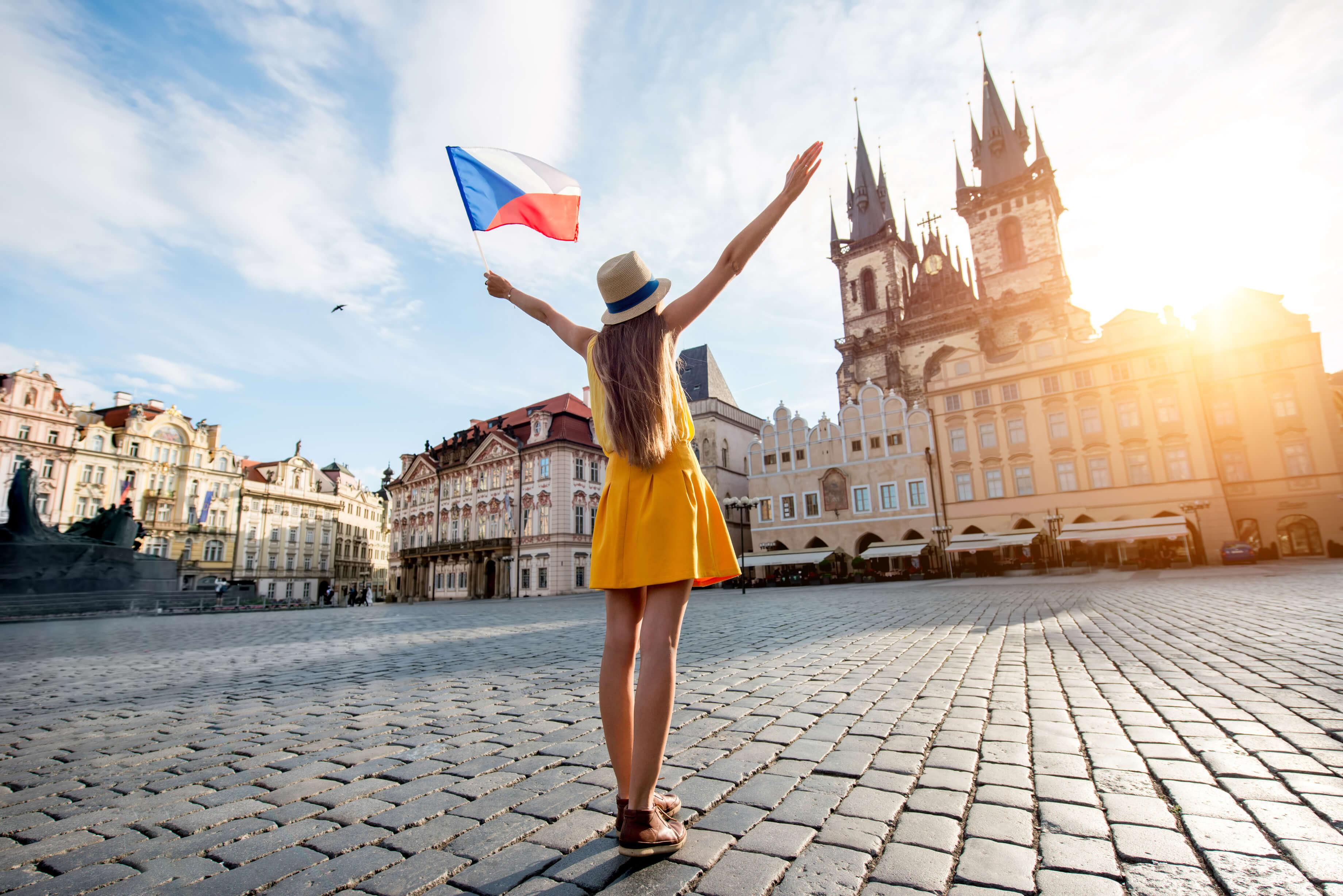 Tschechische Frau