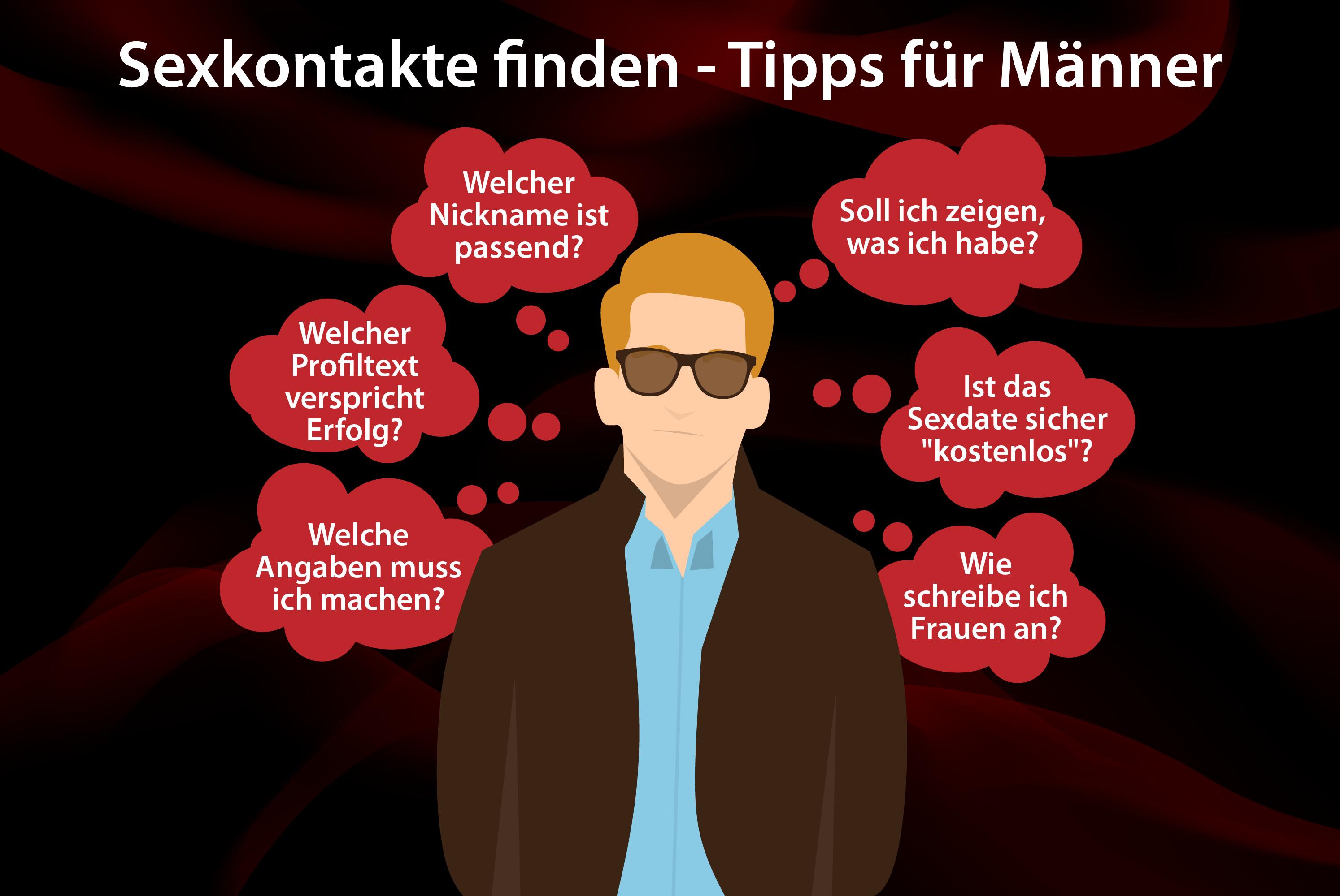 Sexkontakte Tipps fuer Maenner