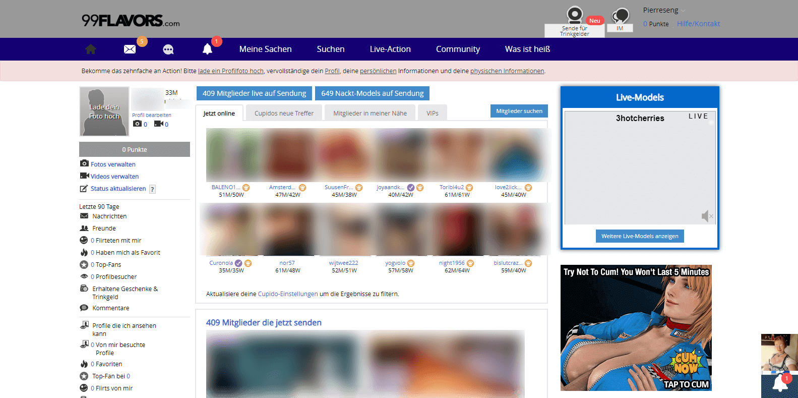 99flavors Startseite