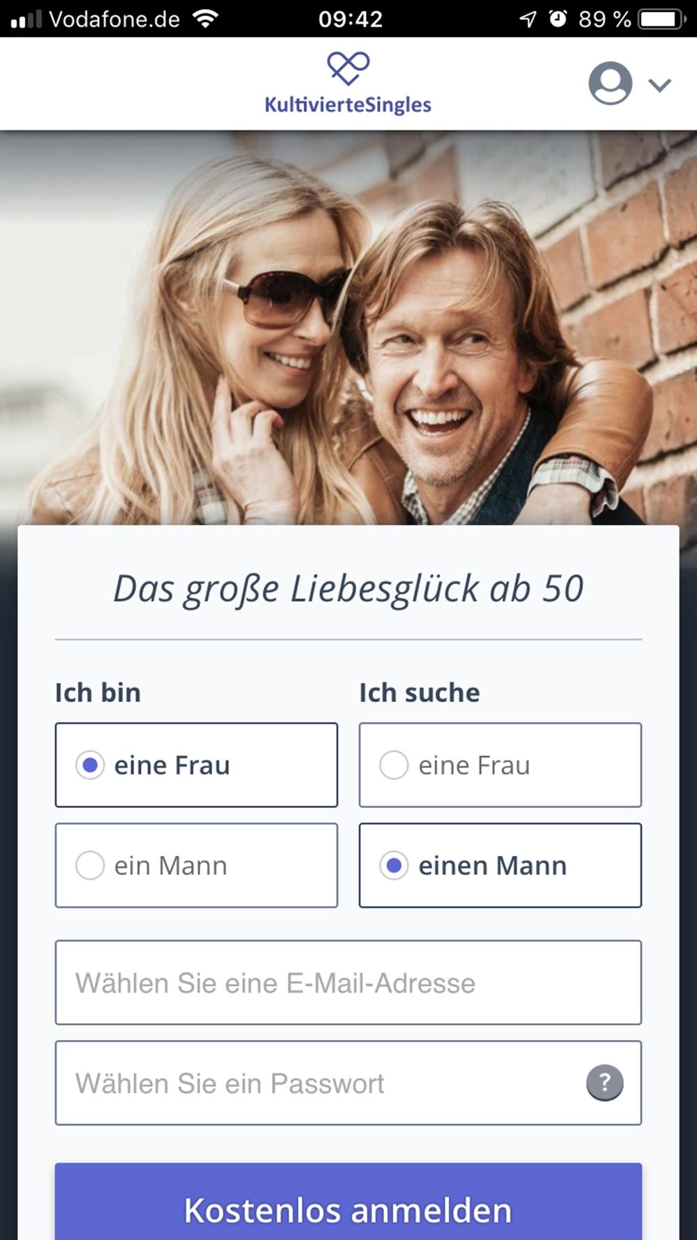 Partnersuche in Wien - Kontaktanzeigen und Singles ab 50