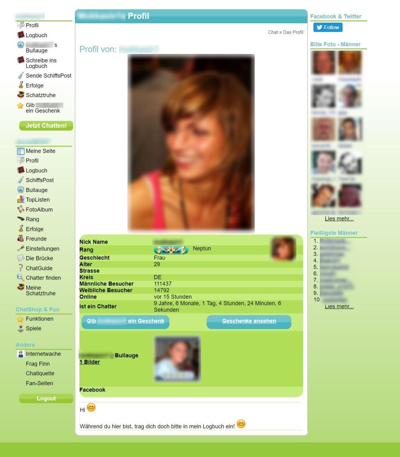 LycosChat Frauen Profil