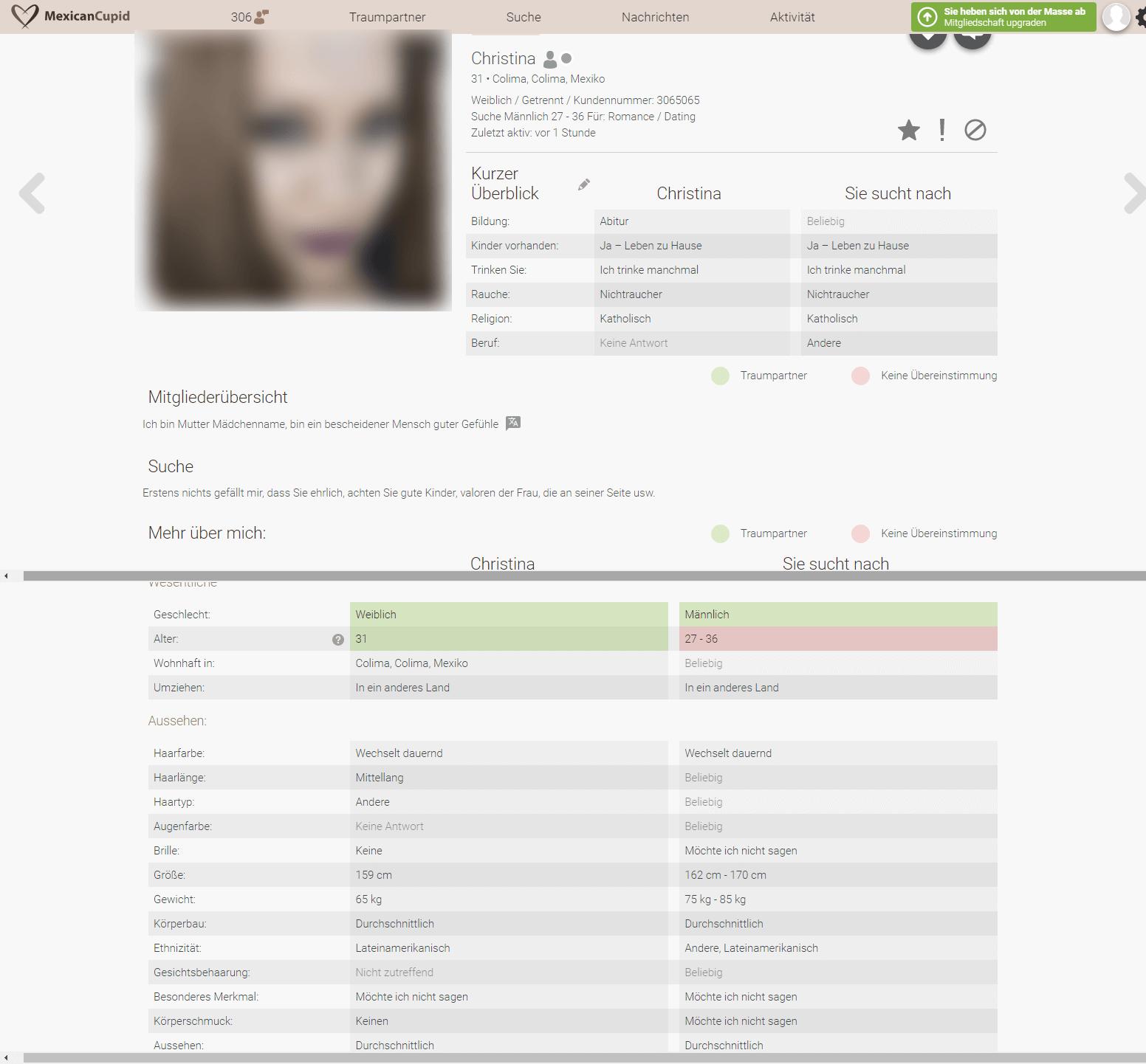 MexicanCupid Profil