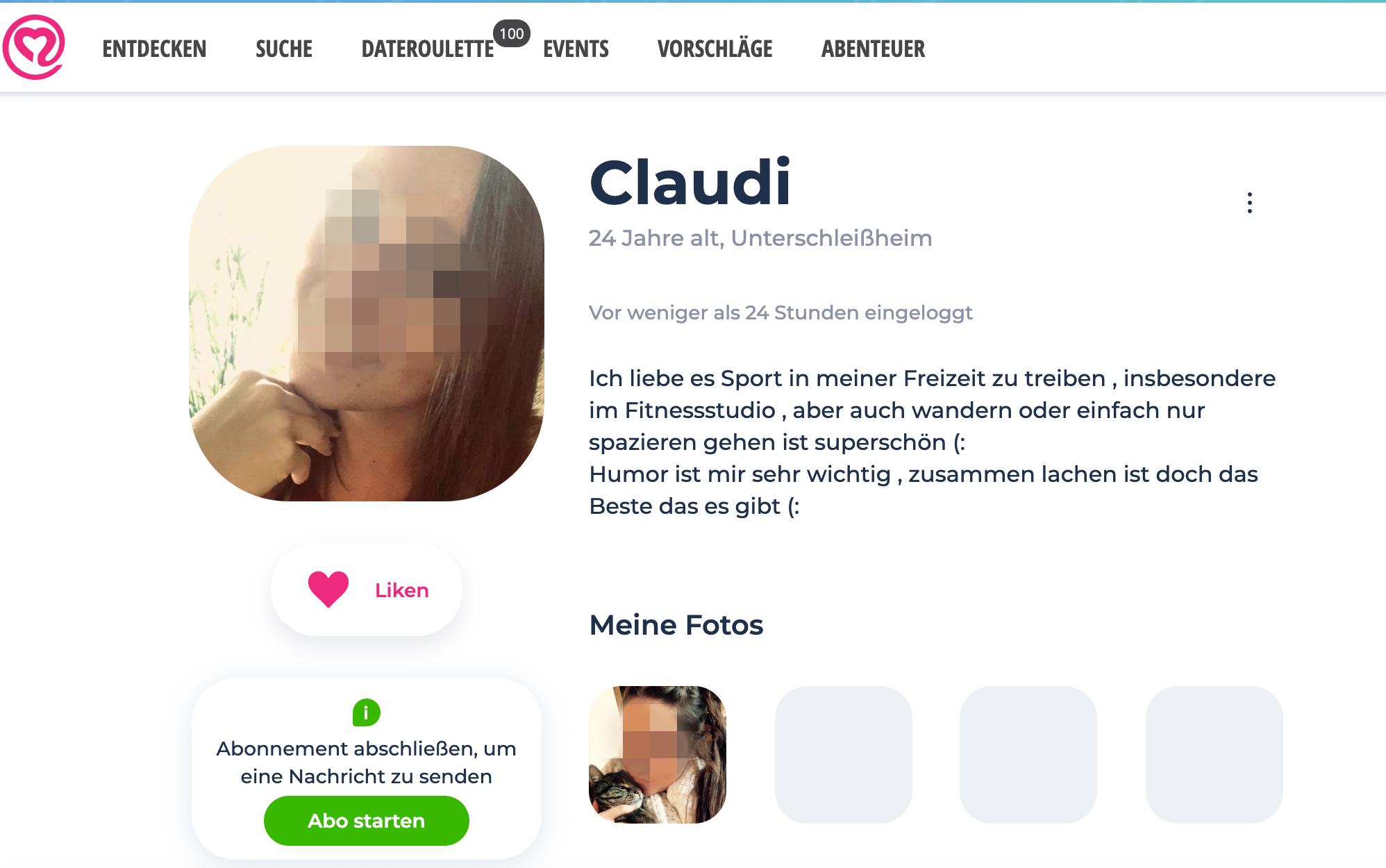 Neu.de Profil