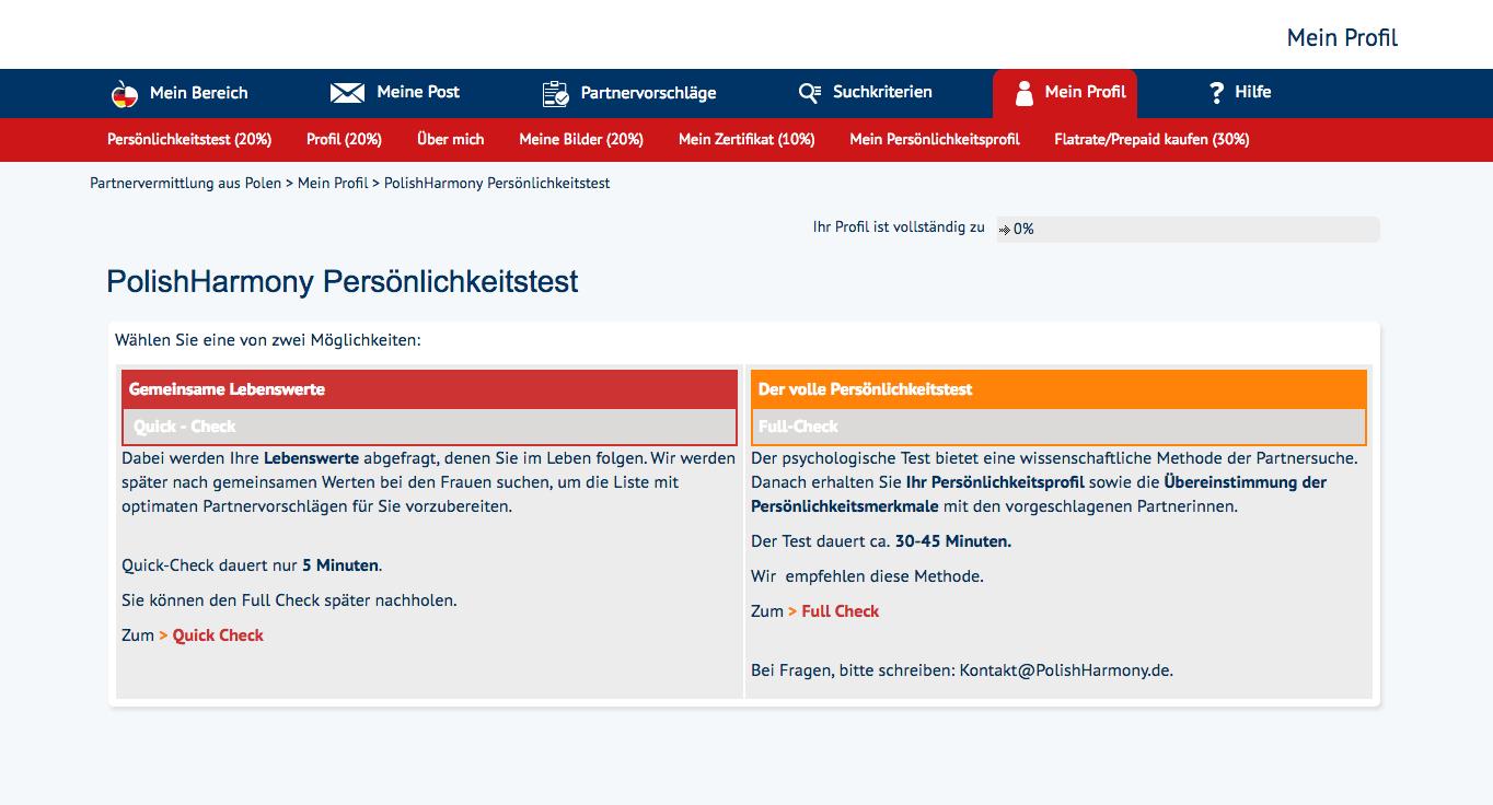 PolishHarmony Registration