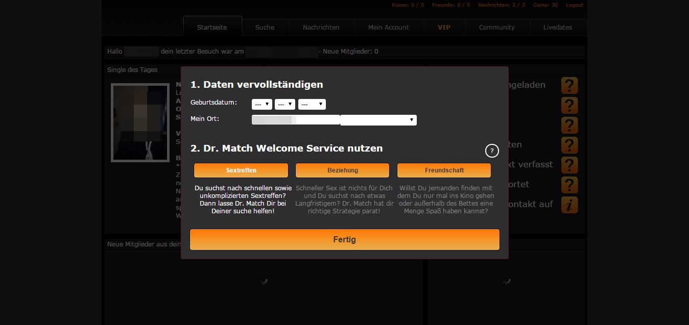 Seitensprungarea Dr.-Match