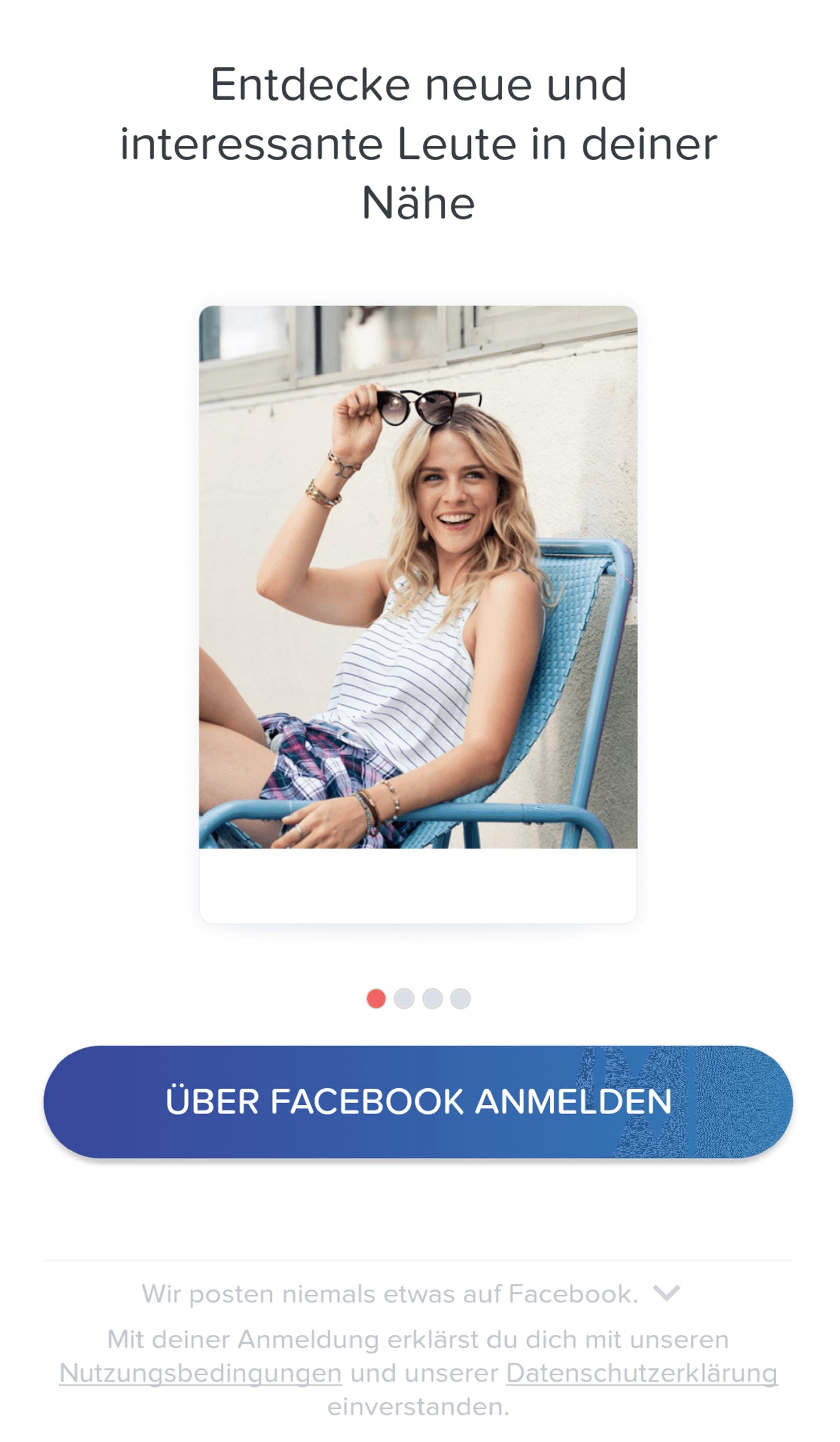 Tinder Anmeldung