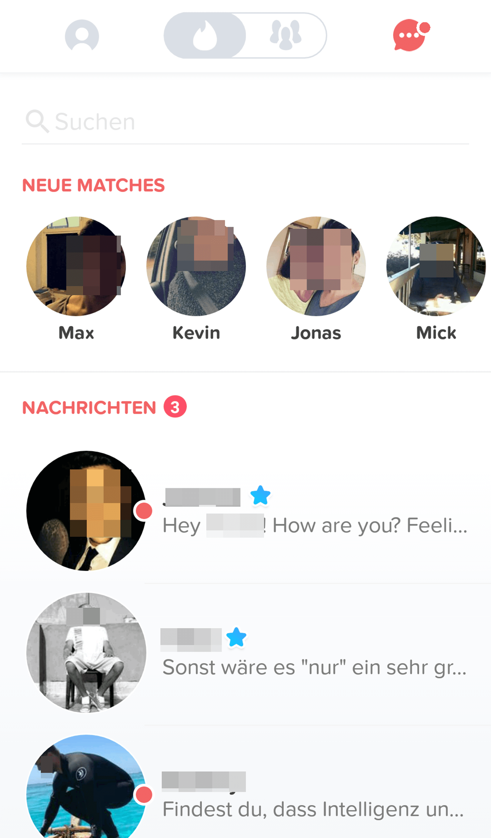 Tinder Matches