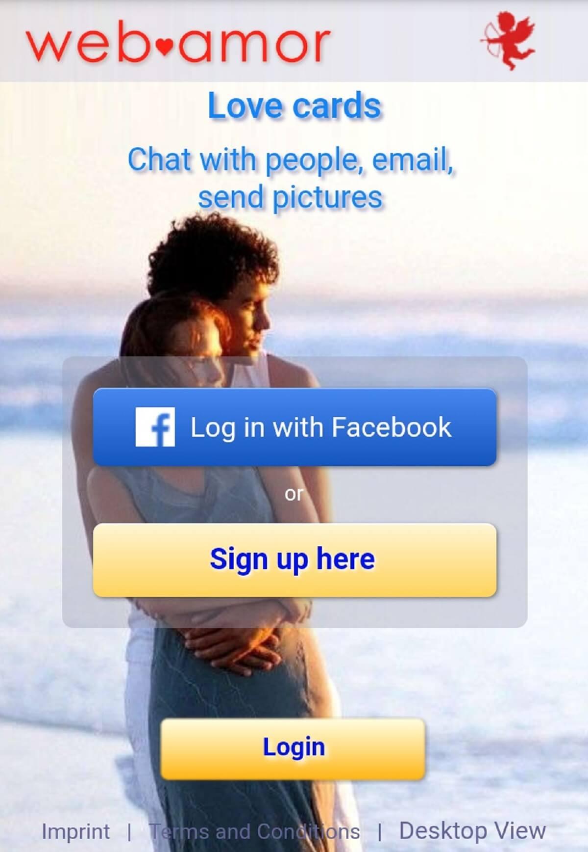 Web-Amor App