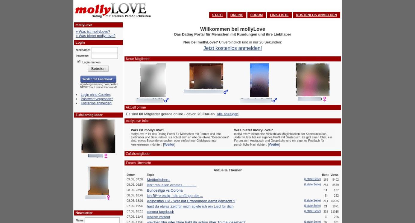 MollyLOVE Startseite