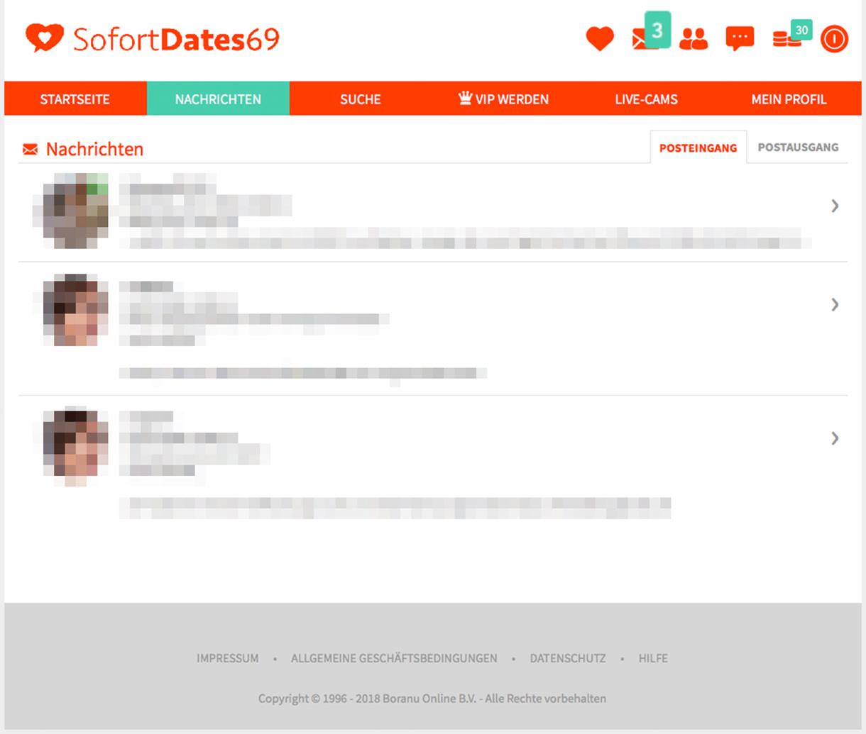 Sofortdates69 Message Center