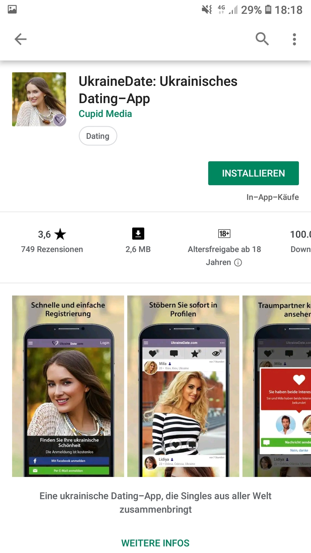 Ukraine kostenlos singles Online Russian