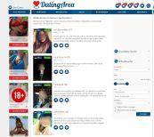 DatingArea Suche