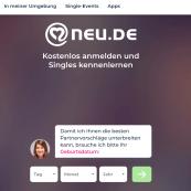 Neu.de Anmeldung