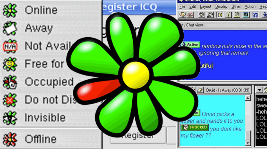 ICQ Symbol Chat