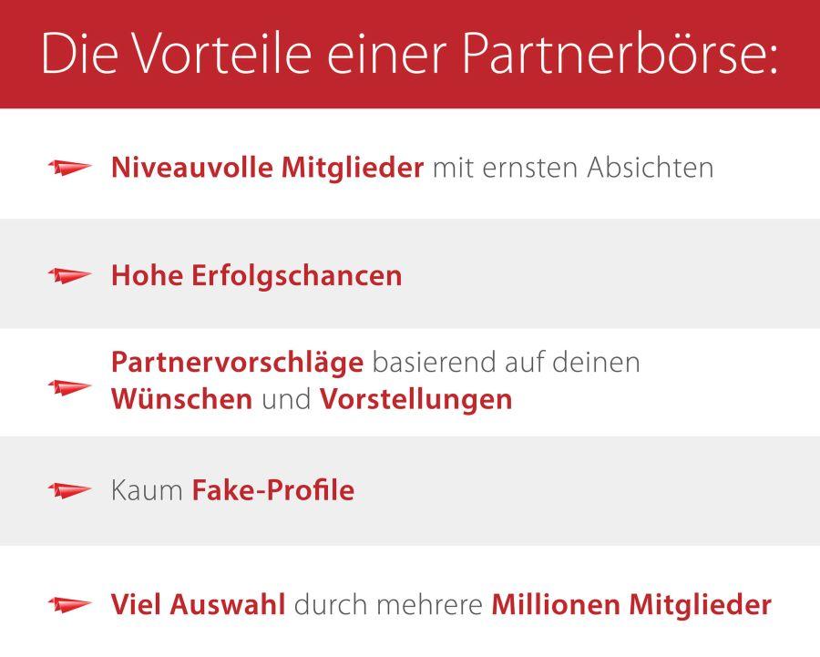 Vorteile Partnerbörse