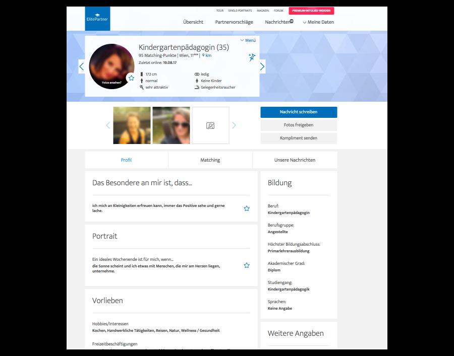 Elitepartner Profil