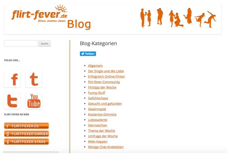 Flirt Fever Blog