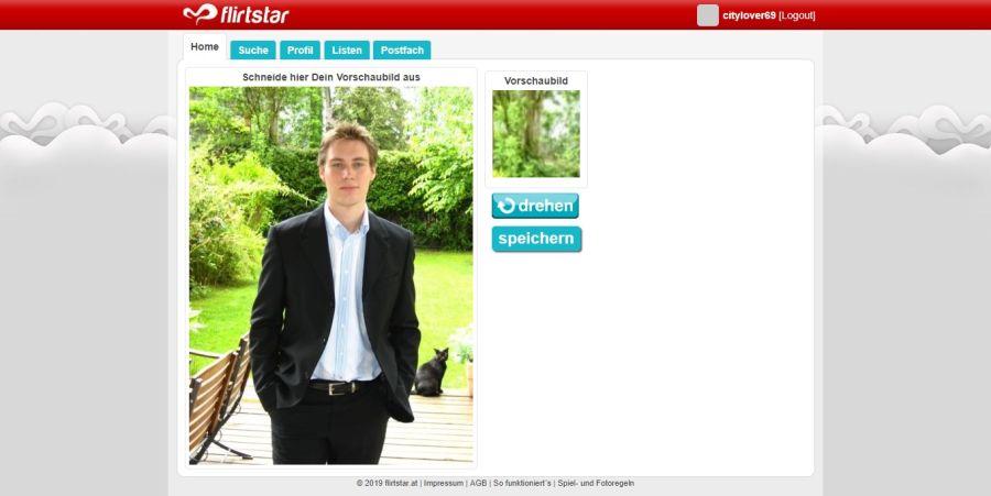 Flirtstar Profilbild Laden