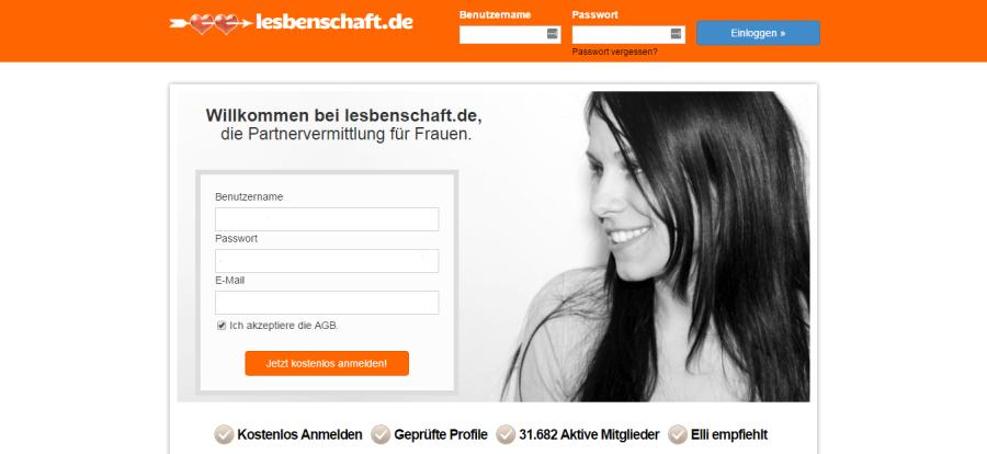 Lesbenschaft.de Anmeldung