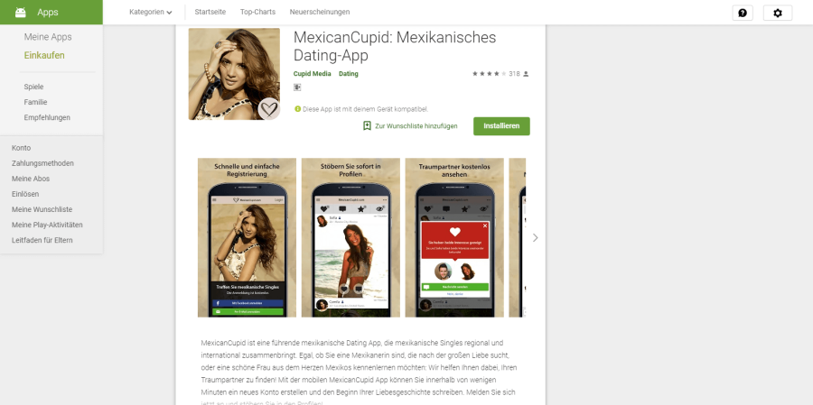 MexicanCupid App