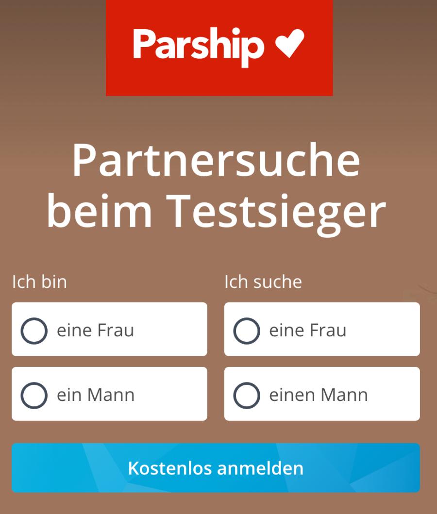 Parship Anmeldung