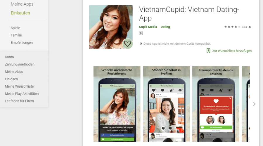 VietnamCupid App