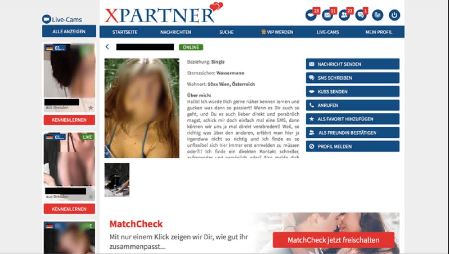 XPartner Frauenprofil Austria
