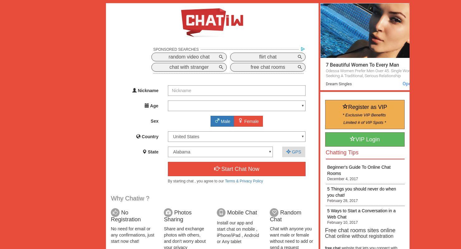 Free chatiw